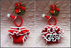 Under Request! Set Christmas of Santa Claus to Baby. It consists of: Santa Claus hat and diaper cover. Under request is made in 3 sizes: Size: Christmas Costumes, Christmas Ornaments, Christmas Crochet Patterns, Crochet Ideas, Santa Claus Hat, Baby Girl Hats, Baby Cover, Diaper Covers, Santa Baby