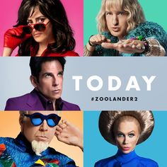 "Derek Zoolander on Instagram: ""My documentary #Zoolander2 is out today. Not to brag, but it's about my  life and my #epic comeback to #fashion and male #modeling  AND about finding my #son AND about finding out about WHO I AM. Tag the #squad you're going with and I'll See you there ✌️ #zoolander2 #today"""