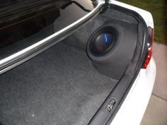 DIY perfect fit subwoofer enclosure - i-Club