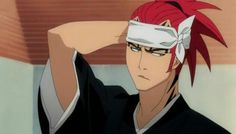 Bleach Renji, Renji Abarai, Anime Bleach, Manga Anime, Anime Art, Bleach Characters, Anime Screenshots, Shinigami, Cartoon