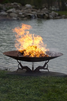 Earth and Sky Gas Fire Pit | Fire Pits & Outdoor Heating