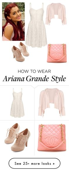 """Cat Valentine"" by charmedgreys on Polyvore featuring Talula, Dolce&Gabbana and Chanel"