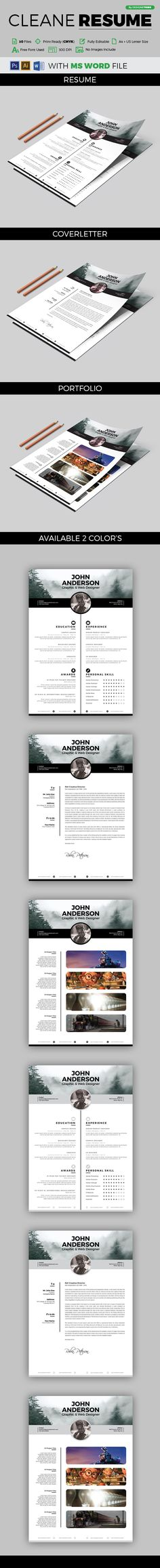 buy resume by arsalanhanif on graphicriver hi there this is a perfect resumecv template for you this template is super easy to edit