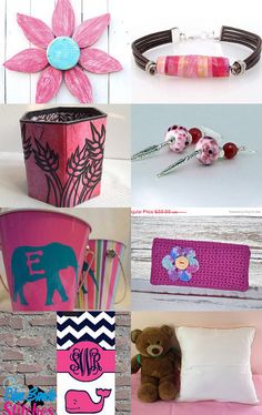 Pink Shades by H C on Etsy--Pinned with TreasuryPin.com #onlineshopping #giftideas #etsytreasury #etsygifts #gifts #etsy
