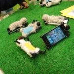 Sheepy iphone stand