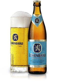 007 drinks Löwenbräu beer in the novel Goldfinger and the short story The Living Daylights.