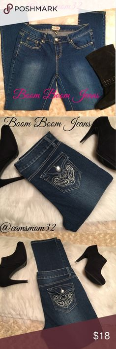 New condition faded wash skinny jeans New condition, size 13 juniors and size 10 woman's. Bundle more items and save. Thanks for checking out this listing 😊 boom boom jeans Jeans Skinny