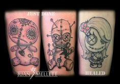 All part of a #voodoo doll sleeve. In progress #tattoo #ink