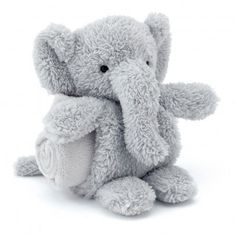 #Jellycat - Elephant plush with a #swaddle http://static.smallable.com/333995-thickbox/elephant-plush-with-a-swaddle.jpg