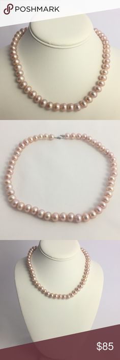 Ziegfeld Collection necklace of freshwater cultured pearls with a silver clasp - Size 4-5 mm Tiffany & Co. XrcKTHlyfe