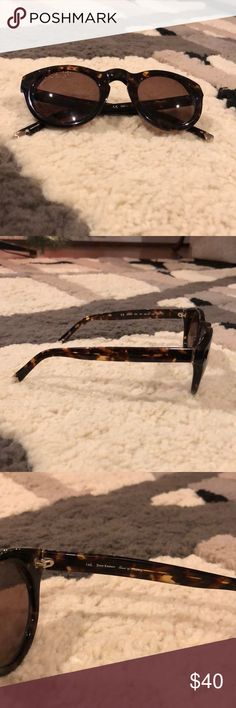 Tortoiseshell Juicy Couture Sunglasses 🕶 Tortoiseshell Juicy Couture Sunglasses with heart Detailing. Excellent condition, no scratches on lenses Juicy Couture Accessories Sunglasses
