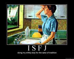 Old fashioned take on ISFJ