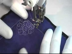 Free Motion Quilting Video: C's and E's - YouTube