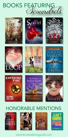 Love a good scoundrel? Here are some great books to check out if you like rascally rogues! http://www.bookaddictsguide.com/2015/03/10/top-ten-tuesday-march-10-2015-top-ten-books-featuring-scoundrels/