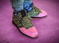 #Reebok #Classic #Leather #Flamingo at #War