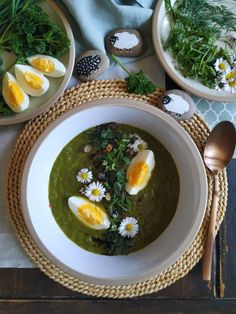 PASTU domov: Na zelený čtvrtek zelená polévka Ramen, Smoothie, Ethnic Recipes, Smoothies