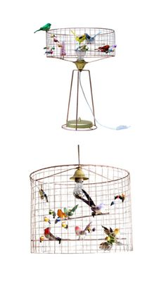 Bird Cage Lamp- pinning for reference if Liz and I ever undertake this one