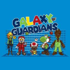 Galaxy of Guardians X Super Mario Bros