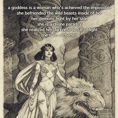 A Goddess is an Alchemist Sacred Feminine, Feminine Energy, Divine Feminine, Magick, Witchcraft, Wiccan, My Demons, Wow Art, Book Of Shadows