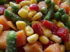 Save money by freezing vegetables from your garden. How to properly freeze fresh vegetables and fruit