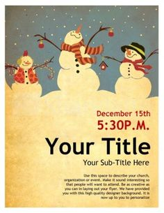 1000 Images About Holiday Flyer On Pinterest Holiday