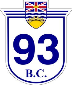 'British Columbia 99 - Sea to Sky' Sticker by NewNomads Whistler, Porsche Logo, British Columbia, All About Time, Road Trip, Canada, Sky, World, Signs