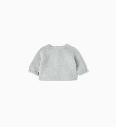 ZARA - Mini  |  Nouveau né-12mois - VESTE CLASSIQUE EN MAILLE