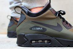 NIKE AIR MAX 90 UTILITY (DARK LODEN) - Sneaker Freaker