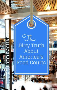You may be surprised to hear just how dirty food courts are. Dr Oz sent a health inspector to a mall food court to find out what spots are contain the most bacteria and germs, so you know what to avoid.