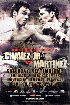 'Maravilla' Martinez vs Chavez Jr.
