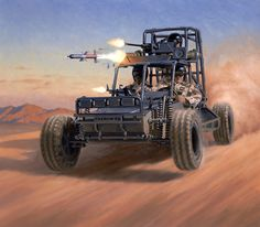 Delta Dune Buggy by Larry Selman
