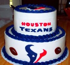 Houston Texans Cake For Gilberts Birthday Football Themed