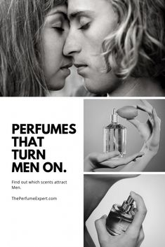 The Top Perfumes That Turn Men On and the sexiest scents that attract men rated by the Perfume Expert | www.theperfumeexpert.com