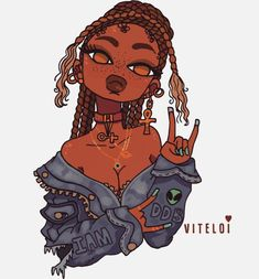 // Kill them with the sauce 👽✨ Art Arte Dope, Dope Art, Black Love Art, Black Girl Art, Black Girls, Black Girl Aesthetic, Aesthetic Art, Arte Black, Art Et Design