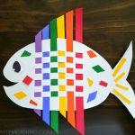 Weaving Rainbow Fish (Kids Craft)