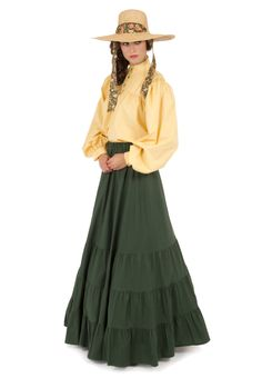 Pioneer Blouse, Apron and Skirt By Recollections