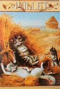 Calendar Cats Post Cards, Maurice Boulanger