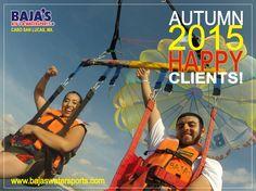 Diviértete con el #1 #Bajaswatersports! Have Fun with #1 #Bajaswatersports! #LosCabos #CaboSanLucas #Parasailing www.bajaswatersports.com T. (624) 1443688 y 1434599