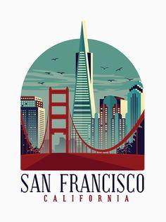 San Francisco Art, San Francisco California, Maya Angelou, Missouri, North Carolina, California Decor, Wall Art Prints, Fine Art Prints, Teen Wall Art