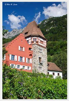 Small Castle, Vaduz, Liechtenstein