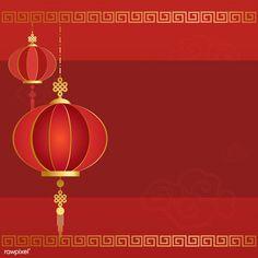 Chinese new year 2019 greeting background | free image by rawpixel.com / Kappy Kappy Chinese New Year Wishes, Chinese New Year Design, Chinese New Year Greeting, New Year Greetings, Chinese New Year Background, New Years Background, Circle Borders, Chinese Festival, Chinese Symbols