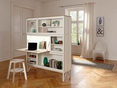 6 Certain Tips: Room Divider Bathroom Storage Ideas room divider plants offices.Room Divider Panels Art Deco room divider bedroom how to build. Furniture, Small Spaces, Home, Portable Room Dividers, Glass Room Divider, Living Room Divider, Multifunctional Furniture