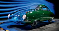 1947 VW Beetle-Based V2 Sagitta is More Aerodynamic than New Golf, Mercedes CLA! Can you imagine a 24-hp car that could reach a top speed of 140 km/h (87mph)? If you think such a performance is hard to achieve now, imagine what it was like in the 1940s.