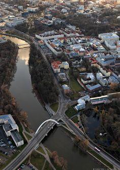 Vaade Emajõelinnale | Aerial view of Tartu