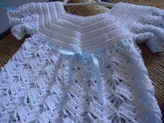 vestidos de niña tejidos a gancho - Buscar con Google