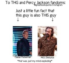 Hunger Games / Percy Jackson