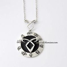The Mortal Instruments: City of Bones angelic power rune Necklace