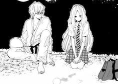 hibi-chouchou Manga Art, Manga Anime, Anime Art, Anime Couples, Cute Couples, Hibi Chouchou, Nijiiro Days, Dengeki Daisy, Horimiya