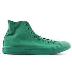 The Converse Chuck Taylor Hi Mono sneakers in green is available on CityGear.com