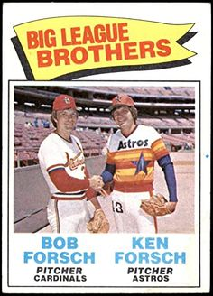 Bob, American League, Autographed Baseballs, Houston Astros, Cardinals, Brother, Baseball Cards, Fitness, Sports